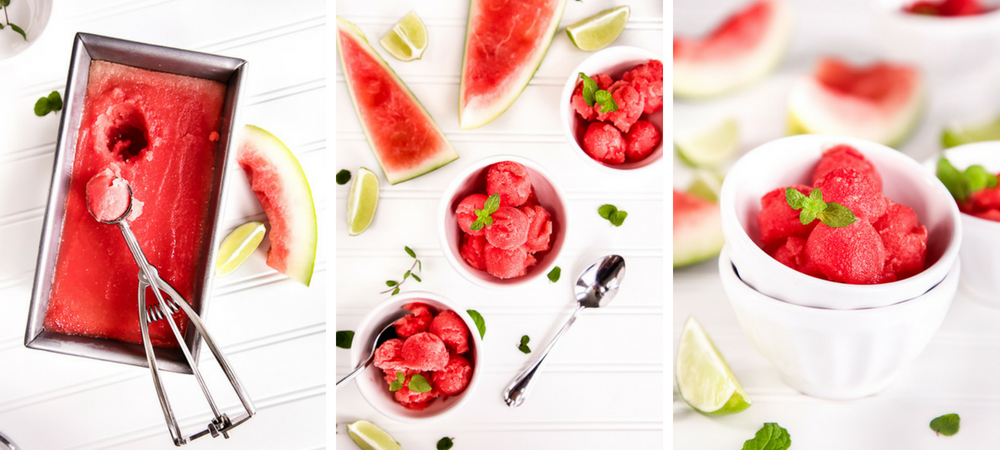 Lime Watermelon Sorbet