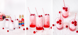 This Vanilla Raspberry Italian Cream Soda is sparkling with summer flavor, fresh raspberries, & creamy texture. This non-alcoholic drink recipe is perfect for a large family dinner, a small dinner party, & can even be doubled for a large group of friends.