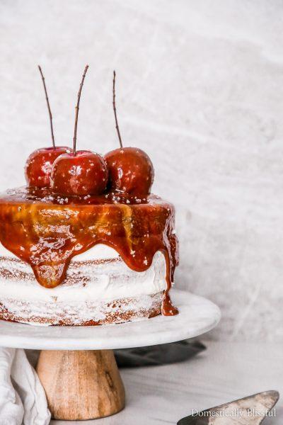 Cinnamon Caramel Apple Cake