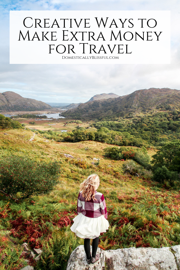 50+ creative ways to make extra money for travel right now!
