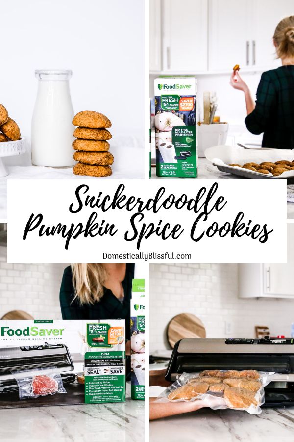 These Snickerdoodle Pumpkin Spice Cookies are the perfect combination of your favorite cookies!