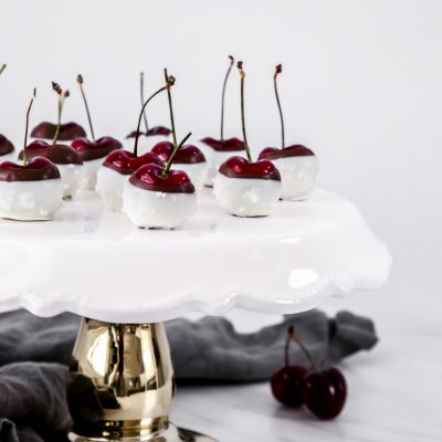 Sea Salt Chocolate Cherries