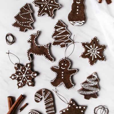 DIY Cinnamon Salt Dough Ornaments