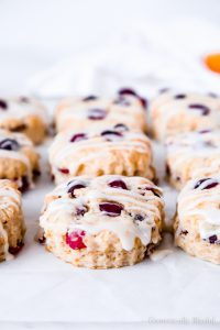 These Orange Cranberry Buttermilk Biscuits are the perfect winter brunch recipewith soft flaky layers of fresh cranberries & orange zest that are ready to eat in only 30 minutes!