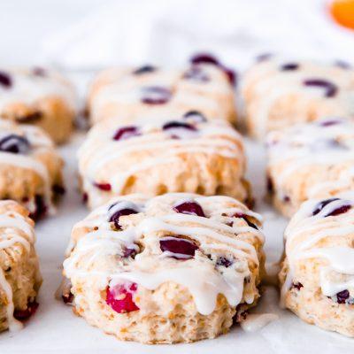 Orange Cranberry Buttermilk Biscuits