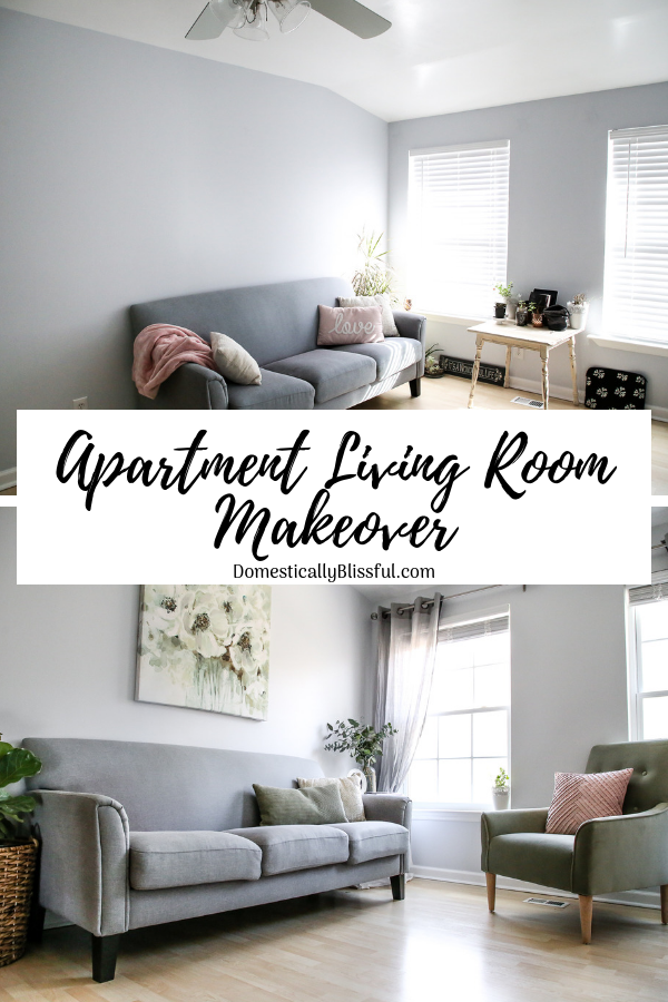 A little peek at our apartment living room makeover & 3 easy tips for making your space a home.