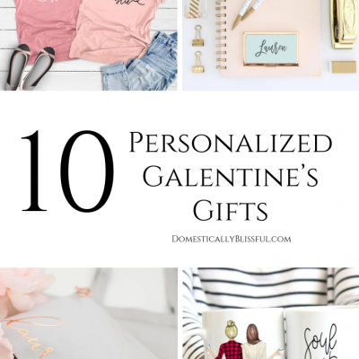 10 Personalized Galentine's Gifts