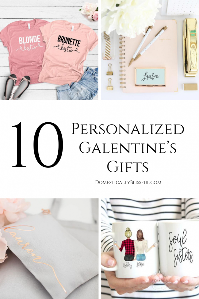 10 personalized Galentine's gifts to give to your best friends this Valentine's Day!