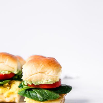Veggie Breakfast Sliders
