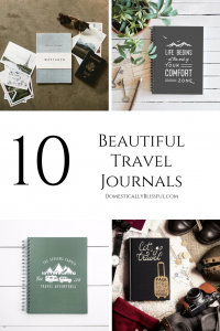10 beautiful travel journals to take on your next relaxing vacation or adventurous trip!