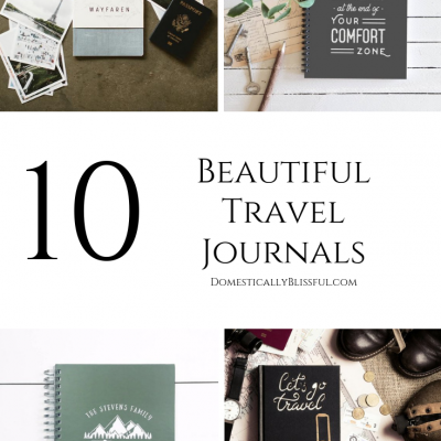 10 Beautiful Travel Journals