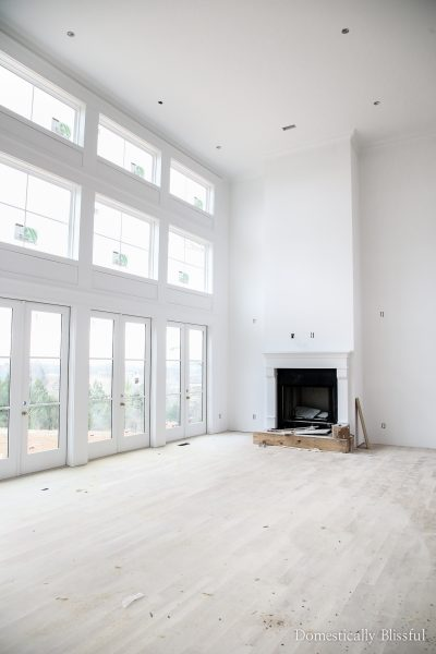 Our ninth month of house building with a video update of our dream home that haswainscoting & trim!