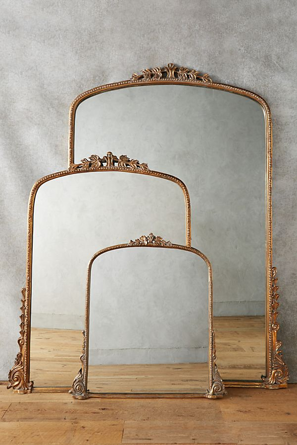 10 oversized mirrors that will look gorgeous above your fireplace mantel.