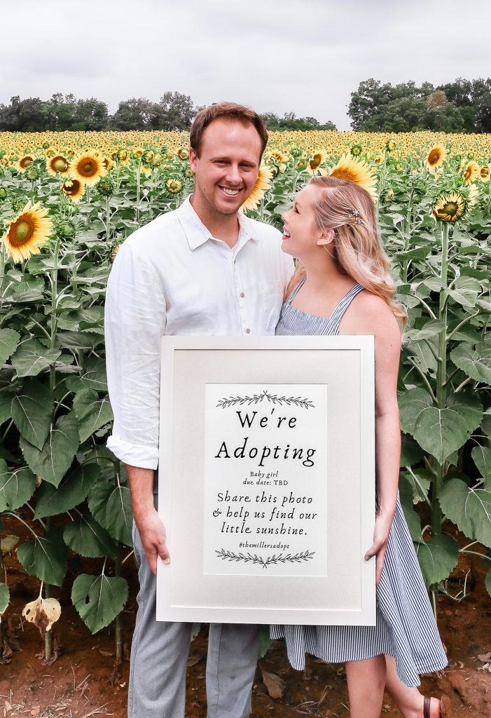 A little announcement about our adoption plans to grow our family of two.