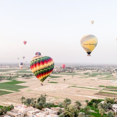Luxor Egypt Hot Air Balloon Experience