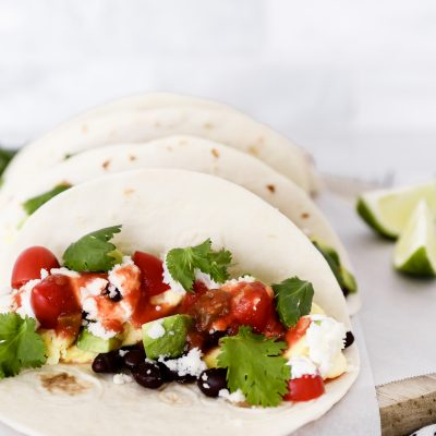 Breakfast Black Bean Tacos