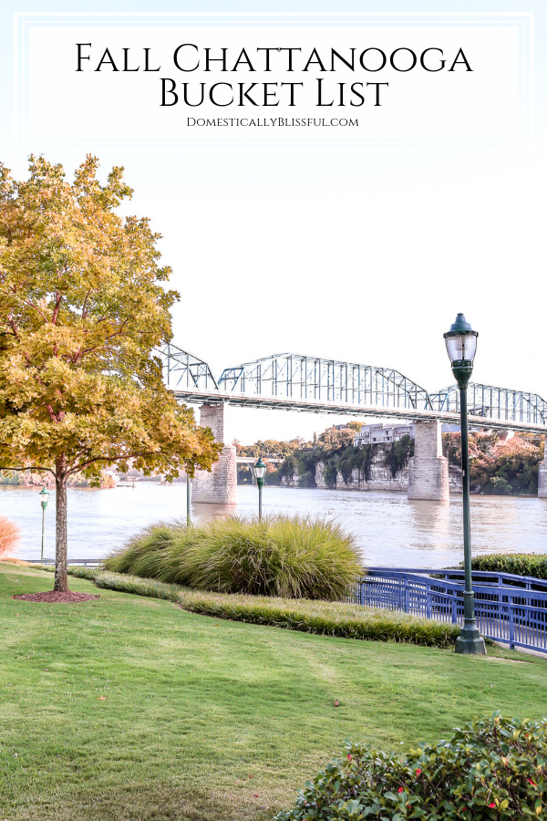 Fall Chattanooga Bucket List with 25 fun fall activities in the Chattanooga area to experience with your friends and family.