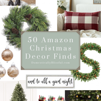 50 Amazon Christmas Decor Finds