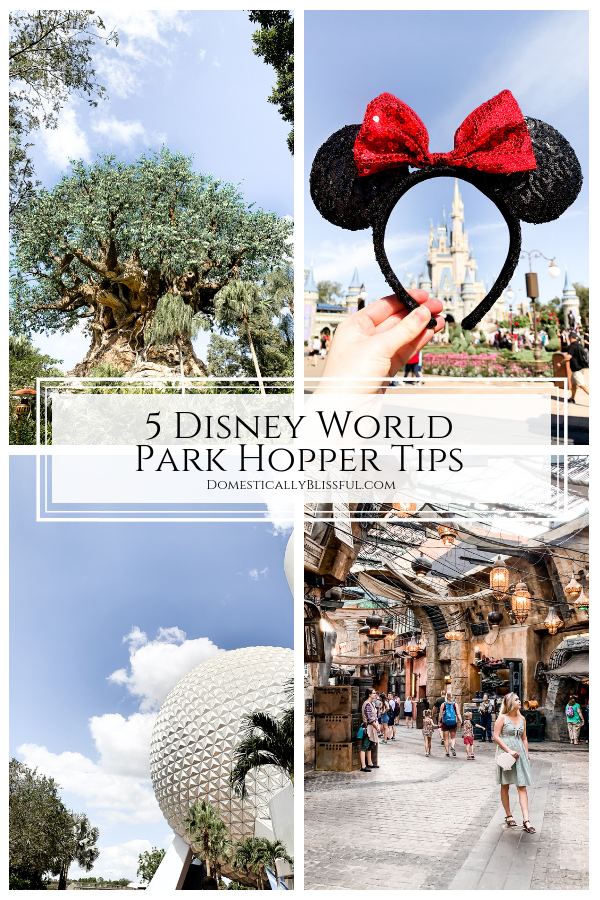 5 Disney World Park Hopper Tips to help you make the most of your Disney World vacation.