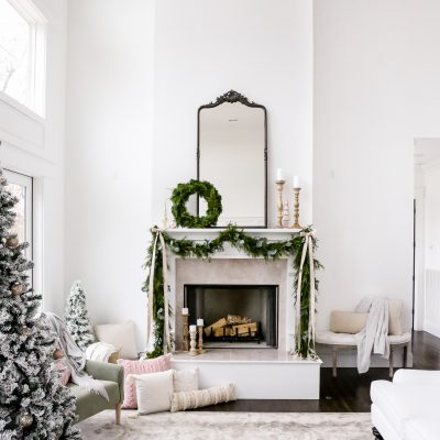 DIY Fresh Evergreen Garland