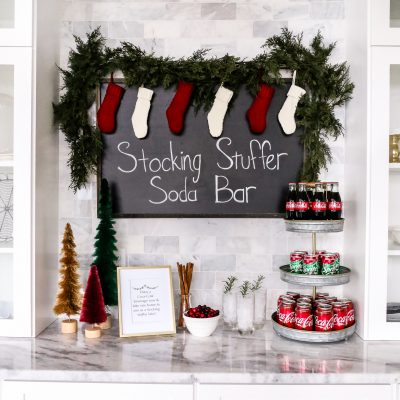 Stocking Stuffer Soda Bar