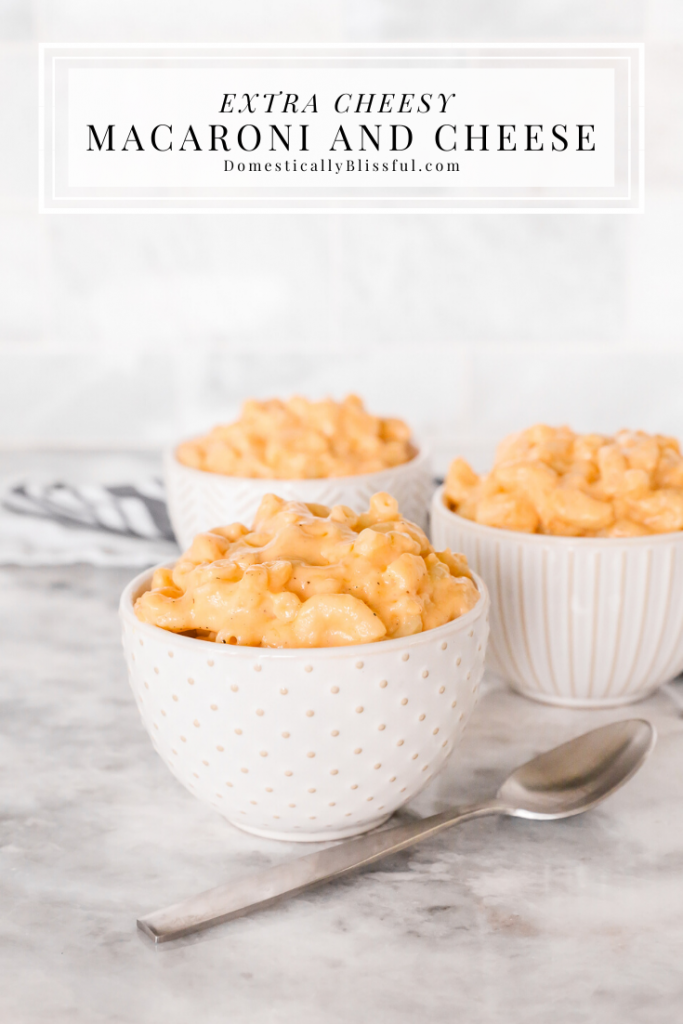 An Extra Cheesy Macaroni and Cheese recipe for the mac & cheese lover in your life.