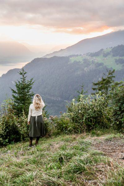 5 tips for visiting Harder Kulm, the Top of Interlaken, while exploring Switzerland.