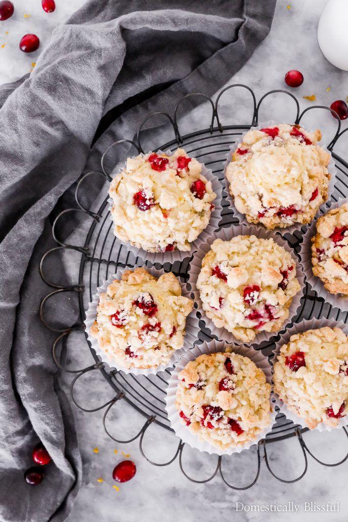 These Cranberry Orange Muffins are a bright and flavorful breakfast treat for those cold winter months.
