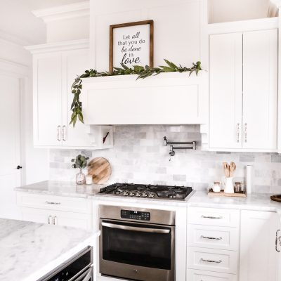 5 Simple Tips to Keep a White Kitchen Clean