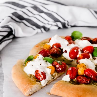 Burrata Caprese Pizza