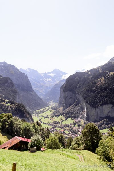 5 things to do in and around Lauterbrunnen Switzerland for a day full of fun and adventure.