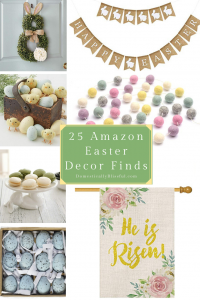 25 Amazon Easter decor finds that are perfect for Easter and the spring season.