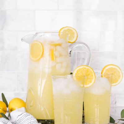 Fresh Homemade Lemonade