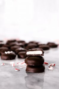 These Dark Chocolate Peppermint Patties are the perfect combination of creamy peppermint coated in dark chocolate. Plus they are easy to create and make perfect gifts!