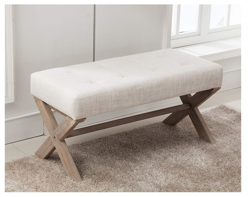 10 upholstered benches for your mudroom or a cozy corner in your home.