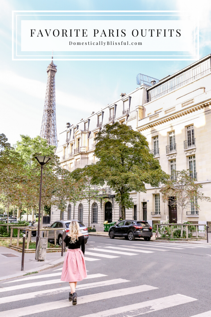 My favorite Paris outfits for the spring and fall for an extra fun, flirty, and romantic getaway.