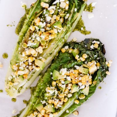 Grilled Romaine Mexican Salad