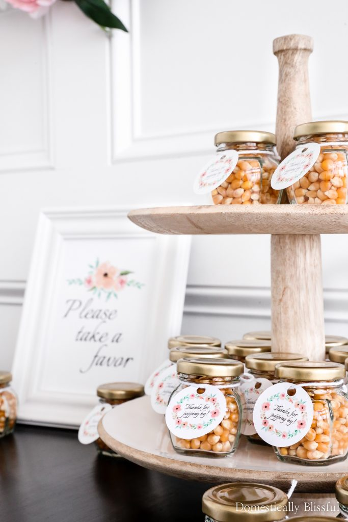 A Simple Elegant Baby Shower with tips for a delicious brunch, easy DIY baby shower decor, and fun activities.