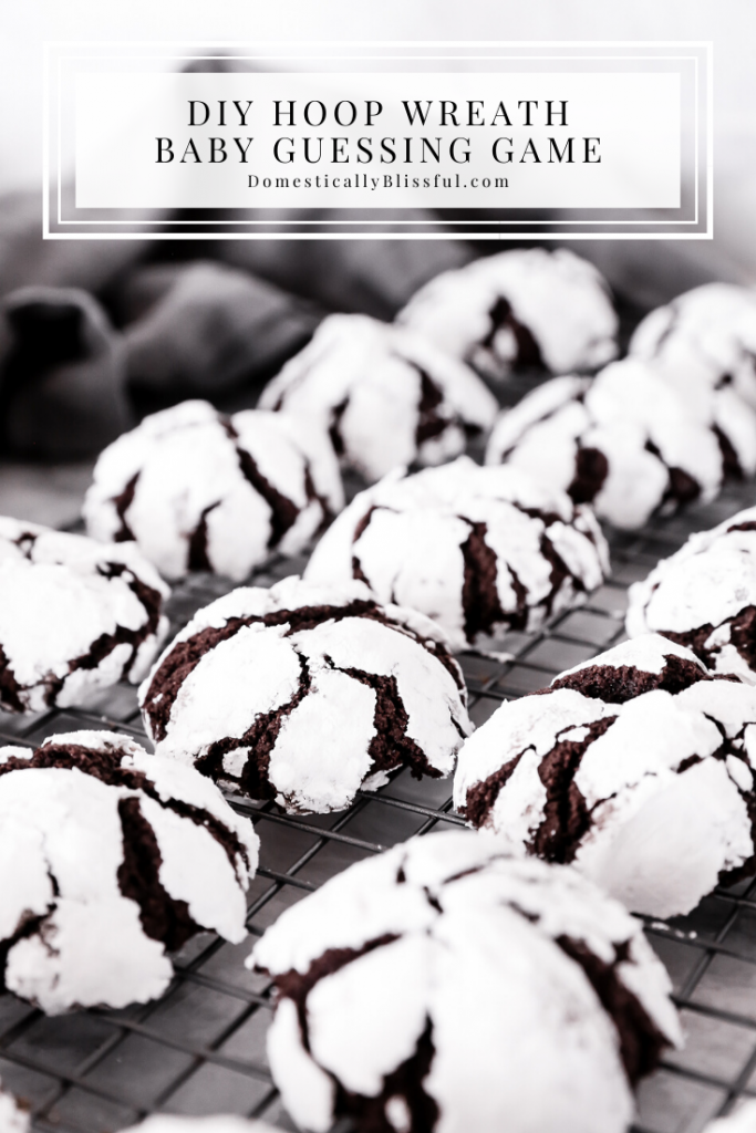 These Dark Chocolate Crinkle Cookies are the perfect Christmas cookie recipe with a chewy dark chocolate center covered in powdered sugar.