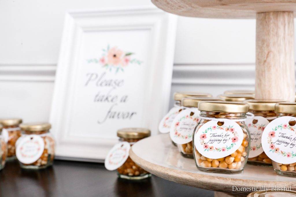 DIY Popcorn Baby Shower Favors to say thanks for popping by to your guests.