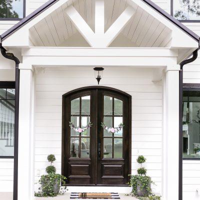 Simple Summer Front Porch Decor