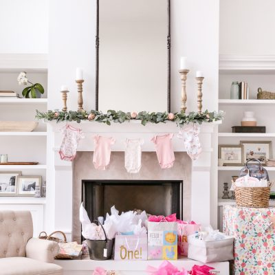 A Simple Elegant Baby Shower