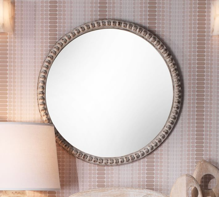 10 Large Round Mirrors You Will Love to add to your home decor.