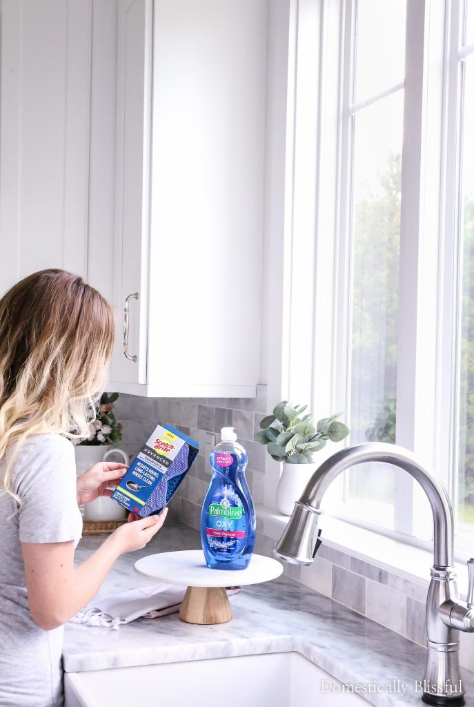 3 Tips for Cleaning Tough Surfaces in Your Kitchen to help keep your kitchen sparkling clean.