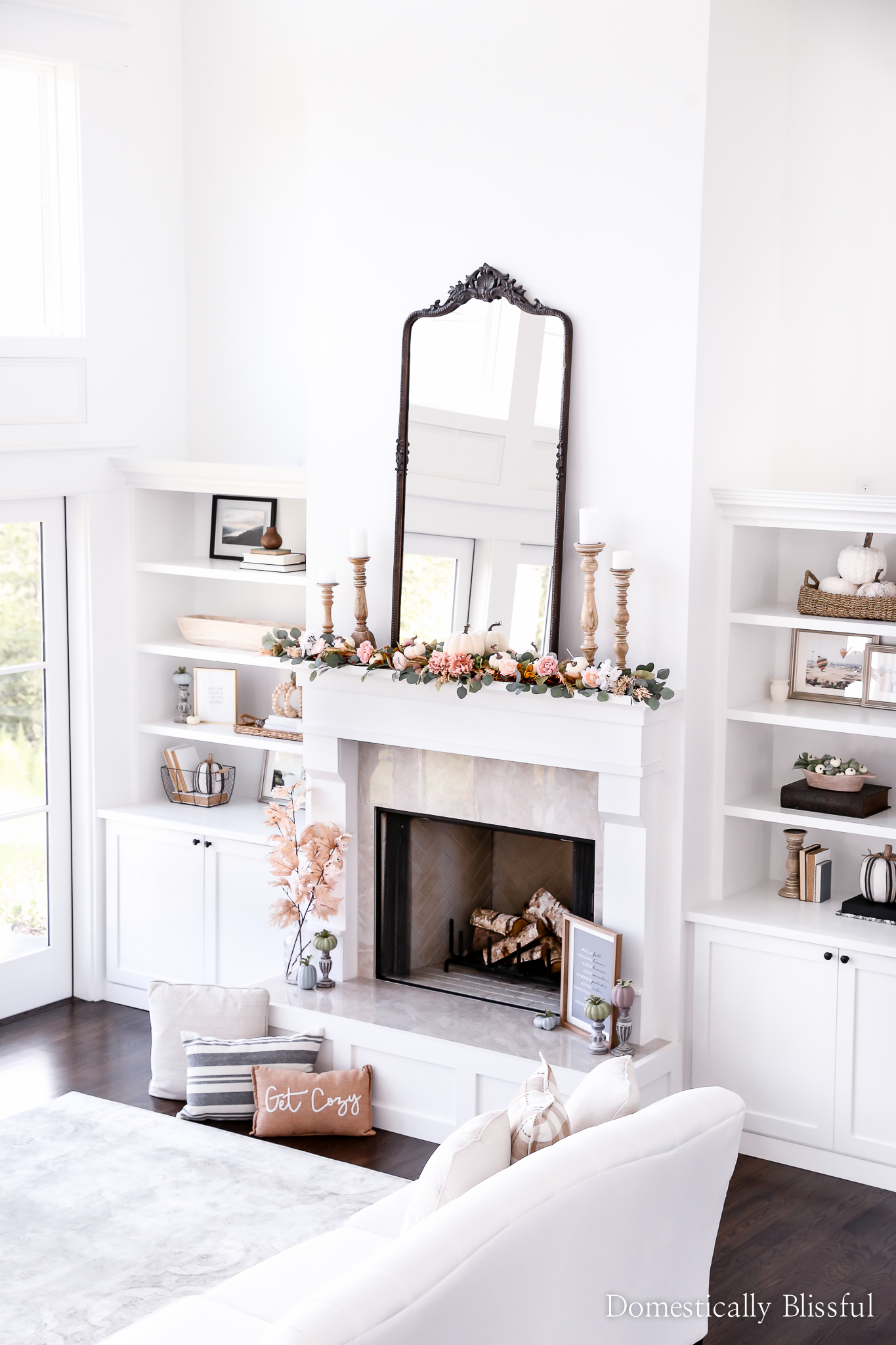 Fall Home Tour   Domestically Blissful
