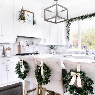 Kitchen Christmas Decor Tour