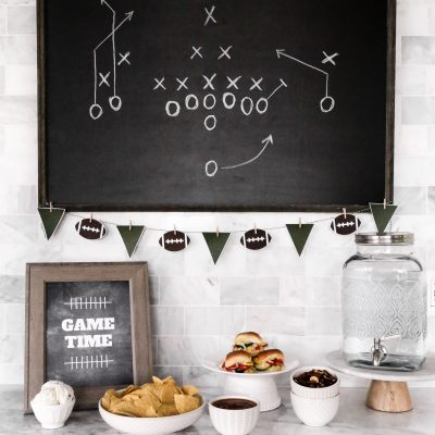 Easy Game Day Food Bar
