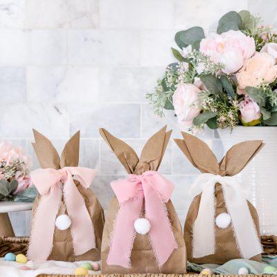 DIY Easter Bunny Gift Bags