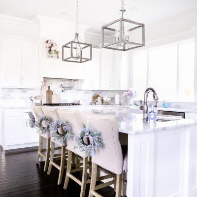 Simple Spring Kitchen Decor