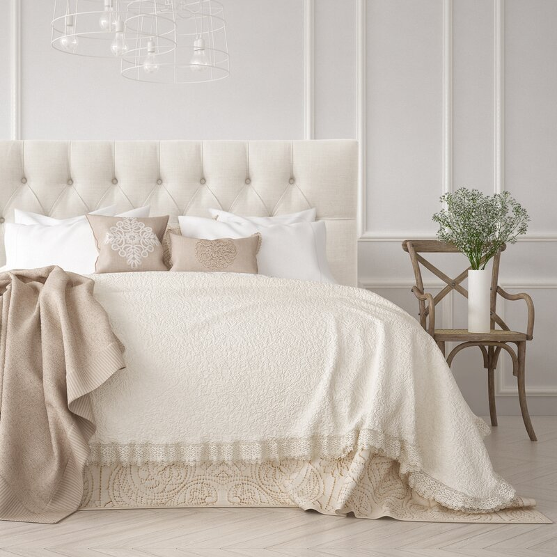 12 Neutral Upholstered Headboards You Will Love for your master bedroom or guest room.